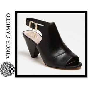 NWB Vince Camuto Erro Heeled Bootie Sandal